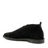 Suede desert boots zwart
