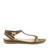 Groene minimal sandalen