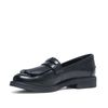 Zwart loafer dames