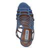 Steve Madden Slithur licht blauwe pumps met peeptoe