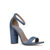 Steve Madden Carrson blauwe sandalen met hak