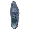 REHAB Marino Flower blauwe veterschoenen met print