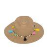 Chapeau Fedora avec pompons