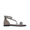 Sandalen met studs grijs