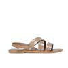 Sandalen beige/silber