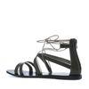 Gladiator sandalen donkergroen