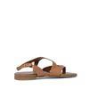 Leren sandalen bruin