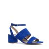 Sandalen met hak blauw