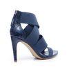 Sandales à talon - bleu foncé