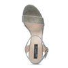 Sandales à talon - doré
