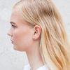 Doortrek oorbellen met staafje