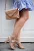 Sandalen met hak nude