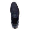 Blauwe veterschoenen