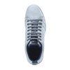 Baskets bleu clair avec motif