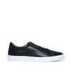 Sneakers zwart leer