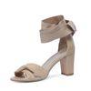 Sandales à talon - nude