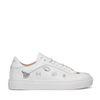 Witte sneakers met print