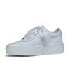 Witte sneakers lakleer