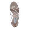 Steve Madden sandalen met hak en parels nude