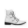 Buckle Boots weiß