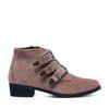 Buckle boots roze