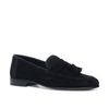Zwarte loafers met kwastjes
