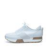 Sneakers met elastiek wit