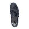 Platform sneakers donkergrijs