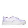 Platform sneakers licht paars