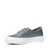Platform sneakers groen