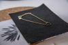 LUZ - handmade heart ketting zilver