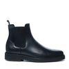 Zwarte chelsea boots leer