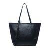 Zwarte handtas met extra binnentas