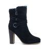 Zwarte laarzen met hak