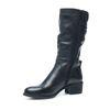 Zwarte hoge laarzen