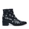 Sacha x Fashionchick bottines avec clous - noir