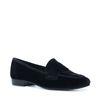Zwarte velvet loafers