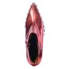 Jeffrey Campbell Bottes courtes métallisées avec clous - rouge