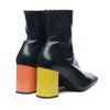 Jeffrey Campell zwarte enkellaarsjes met hak in 2 kleuren
