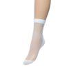 Fishnet sokken wit