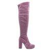 Sacha x Fashionchick roze glitter laarzen