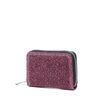 Kleine roze glitter portemonnee