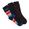 Sokken multicolor 3 paar