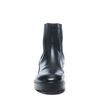 Zwart leren chelsea boots
