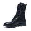 Sacha x Fashionchick bottes à lacets - noir
