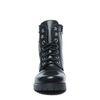 Zwarte embroidery biker boots