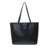 Zwarte handtas met binnentas