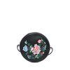 Zwart schoudertasje met embroidery