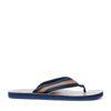 GANT Breeze cognac met donkerblauwe slippers
