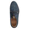 REHAB Nolan denim blauw veterschoenen